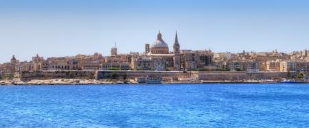 バレッタ、マルタの首都。 写真素材