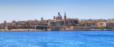 Valletta, the capital of Malta.