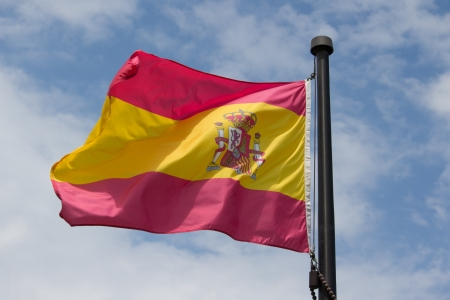The Flag of Spain Stock Photo - 15092760