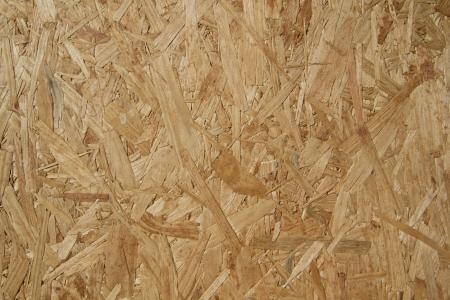 Close-up van geperst hout textuur Stockfoto