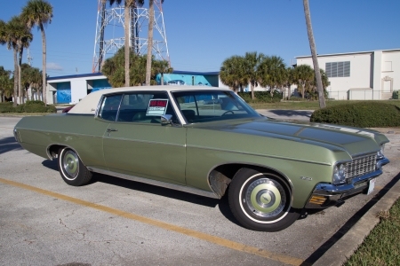 A Green 1970 Chevrolet Caprice