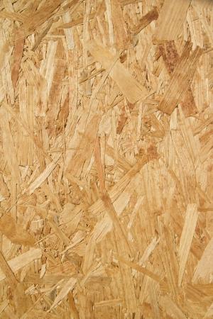 osb: Closeup of pressed wood texture Stock Photo