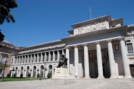 del: Famous Prado museum in Madrid, Spain.