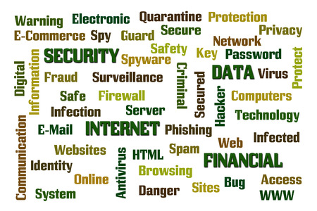 Internet Security word cloud photo