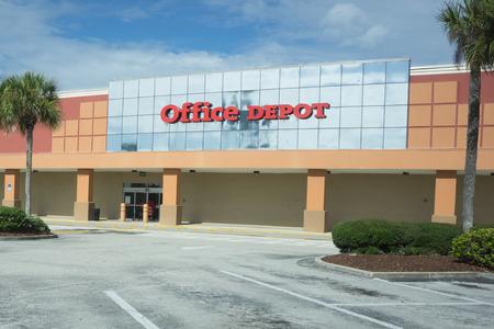 Attractive JACKSONVILLE BEACH, FLORIDA, USA   AUGUST 2, 2015: An Office Depot  Storefront