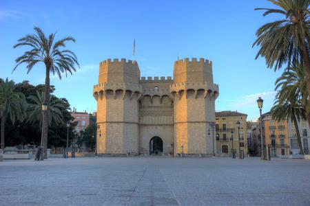 Towers of Serranos in Valencia, Spain.