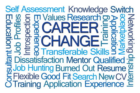 career change word cloud on white background stock photo 59928670