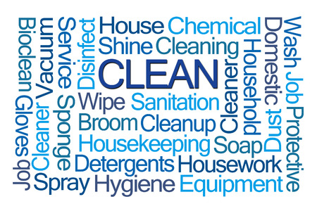 bioclean: Clean Word Cloud on White Background