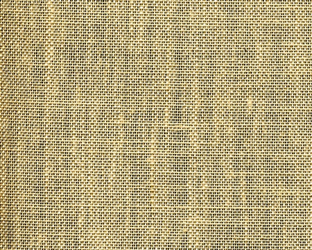 magnified detail of burlap textile sample Stock Photo