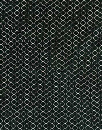 Image of textile net on black background