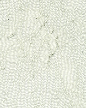 Magnified image detail of white gauze background
