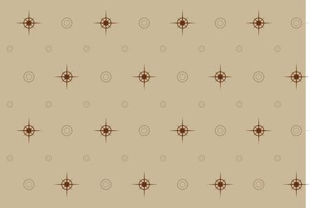 vector pattern illustration of Christmas gift paper