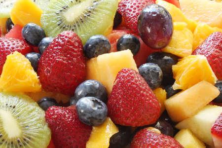 salade de fruits: fruits, salades,