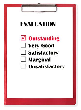 Outstanding Evaluation