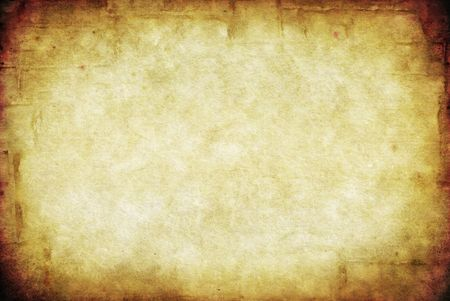 Grunge background, combining images of a sandstone bricks, old paper, and wheat, for great textures. photo