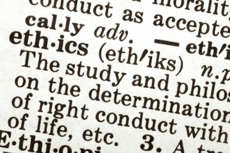 ethics and morals: Dictionary definition of