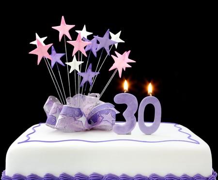Birthday Cake Candles Stock Photos Royalty Free Birthday Cake