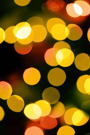 defocussed: Defocussed fairy lights. Stock Photo