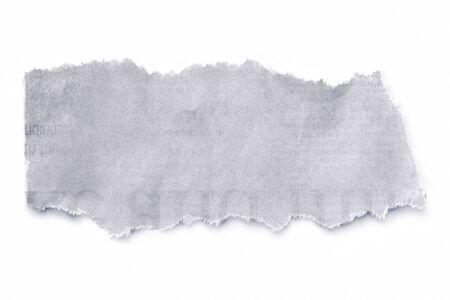 periodicos: Peri�dico roto, aislado en blanco con sombra natural y suave.