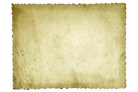 festonati: Vecchia carta fotografica, con bordo smerlato. Archivio Fotografico