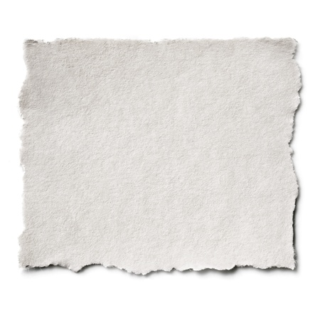 Torn blank paper with copy-space    Stock Photo