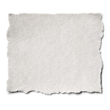 Zerrissene leere Papier mit Kopie-Raum Lizenzfreie Bilder