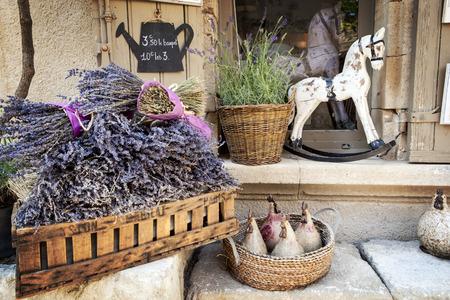 프로방스, 프랑스에서 판매 라벤더입니다.