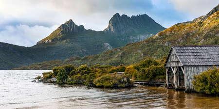 Dove Lake, Cradle Mountain, Tasmania, Australia Stockfoto