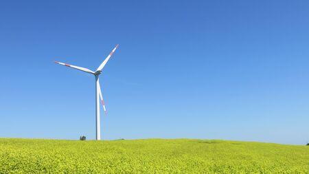 rural scenes: Wind power and rural scenes