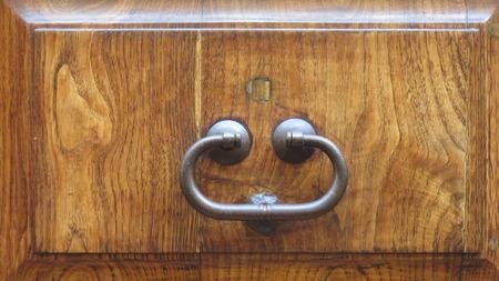 knocker: old door knocker