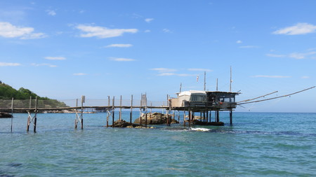 sea fishing: Overflow in Abruzzo