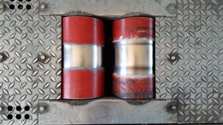 frenos: rodillos para frenos de las pruebas de motocicleta