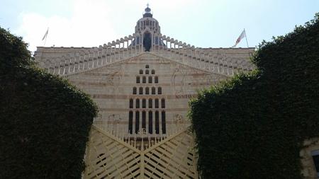 annunciation: nazareth church of annunciation