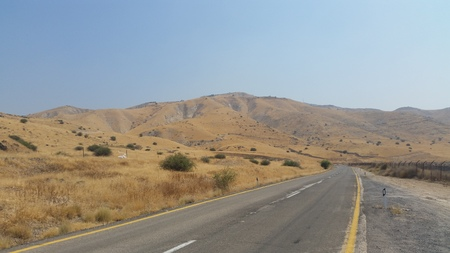 golan: landscape of the Golan Heights
