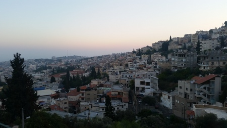 nazareth: nazareth at sunset