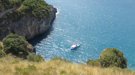 beach view from san nicola Arcella Stock Photo