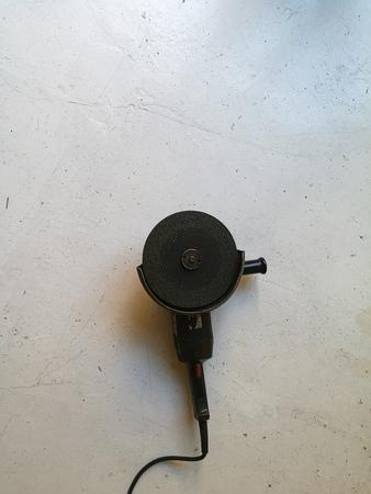 molinillo: amoladora eléctrica Foto de archivo