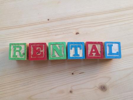 rental: written rental