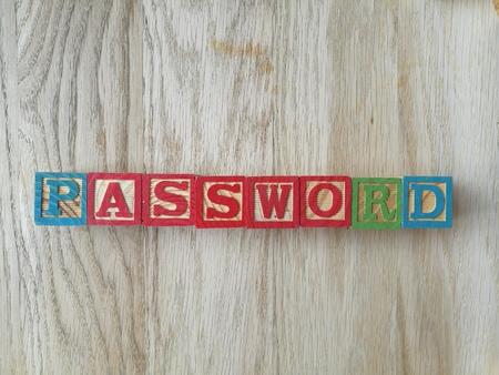password: contraseña escrita