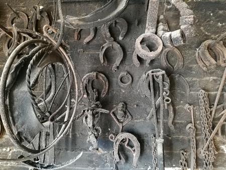 blacksmith shop: old coppersmiths shop and blacksmith