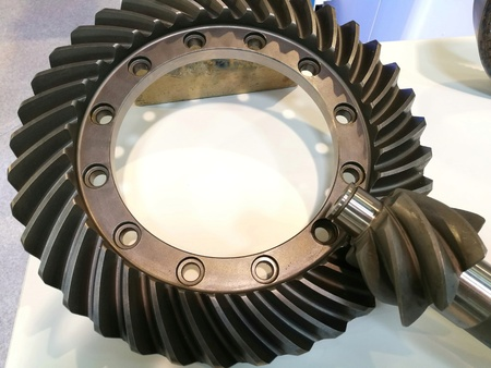 gear with conical coupling