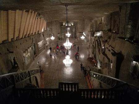 salt mine of Wieliczka