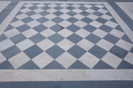 Checkered floor in Pescara