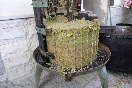 homemade wine production