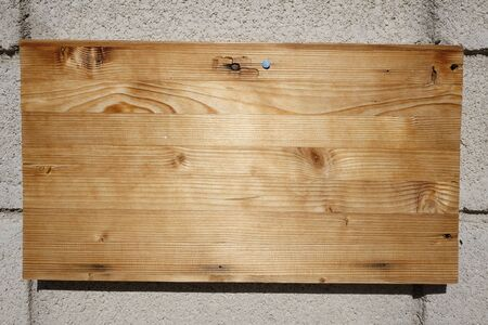 background wooden on the wall Stock Photo