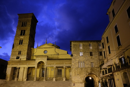 alte: cathedral of terracina