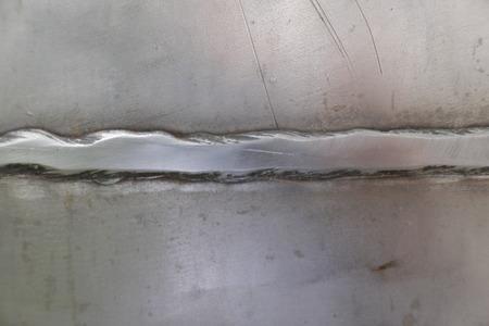 welding between steel plates 版權商用圖片
