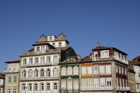 historic center in guimaraes Stock Photo