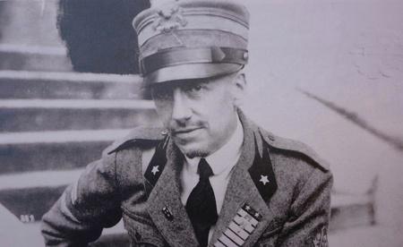 Portrait of Gabriele d'Annunzio Italian poet