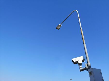 speed camera on light pole